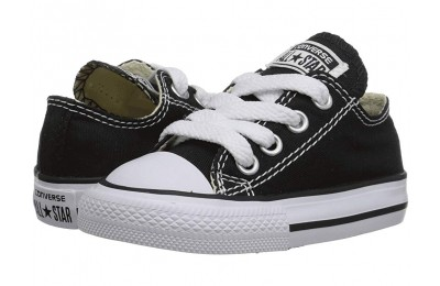 [ Hot Deals ] Converse Kids Chuck Taylor® All Star® Core Ox (Infant/Toddler) Classic Black