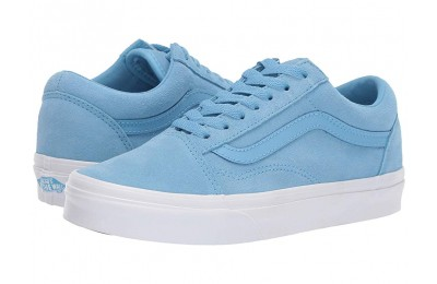 Buy Vans Old Skool™ (Soft Suede) Alaskan Blue/True White