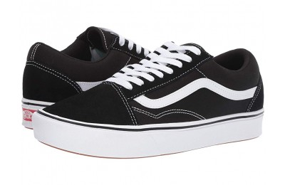 Buy Vans Comfycush Old Skool (Classic) Black/True White
