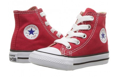 [ Hot Deals ] Converse Kids Chuck Taylor® All Star® Core Hi (Infant/Toddler) Red