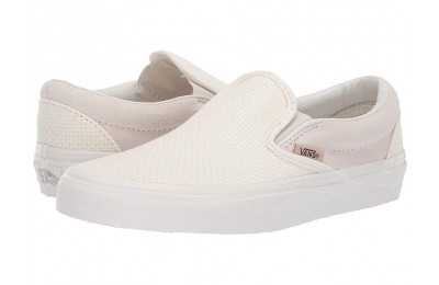 Christmas Deals 2019 - Vans Classic Slip-On™ (Woven Check) Marhmallow/Snow White