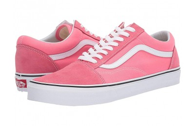 [ Hot Deals ] Vans Old Skool™ Strawberry Pink/True White