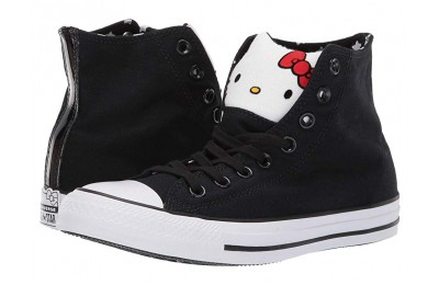 Hot Sale Converse Hello Kitty® Chuck Taylor All Star - Hi Black/Fiery Red/White