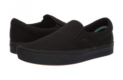 Christmas Deals 2019 - Vans ComfyCush Slip-On (Classic) Black/Black