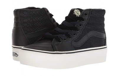 Vans SK8-Hi Platform 2.0 (Leather) Snake/Black Black Friday Sale