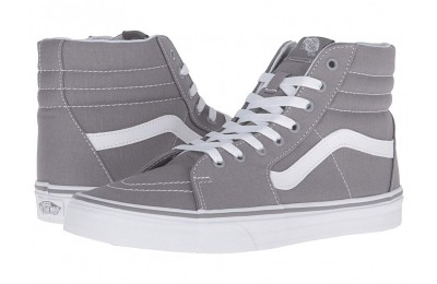 Vans SK8-Hi™ (Canvas) Frost Gray Black Friday Sale