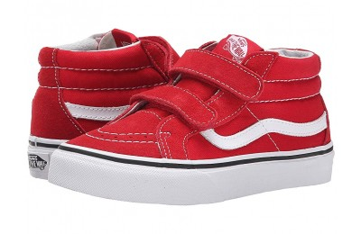 [ Hot Deals ] Vans Kids SK8-Mid Reissue V (Little Kid/Big Kid) Formula One/True White