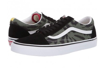 [ Hot Deals ] Vans Old Skool™ (Suede/Canvas) Zinnia/True White