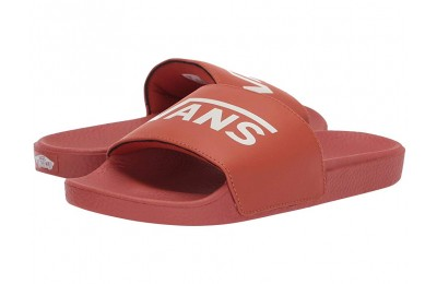 [ Hot Deals ] Vans Kids Slide-On (Little Kid/Big Kid) (Vans) Potters Clay