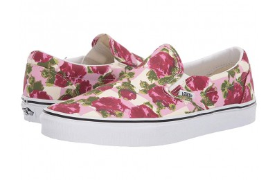 [ Hot Deals ] Vans Classic Slip-On™ (Romantic Floral) Multi/True White