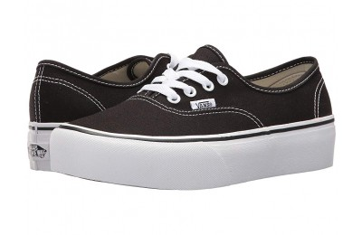[ Black Friday 2019 ] Vans Authentic Platform 2.0 Black