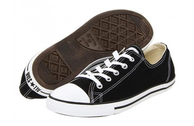 [ Hot Deals ] Converse Chuck Taylor® All Star® Dainty Ox Black