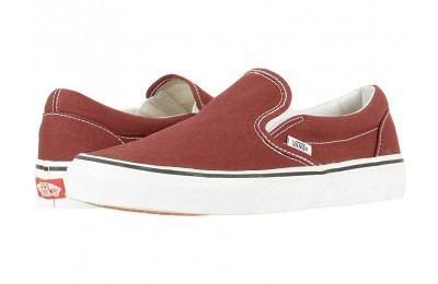 [ Hot Deals ] Vans Classic Slip-On™ Madder Brown/True White