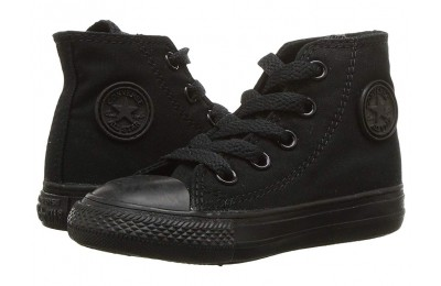 [ Hot Deals ] Converse Kids Chuck Taylor® All Star® Core Hi (Infant/Toddler) Black/Monochrome