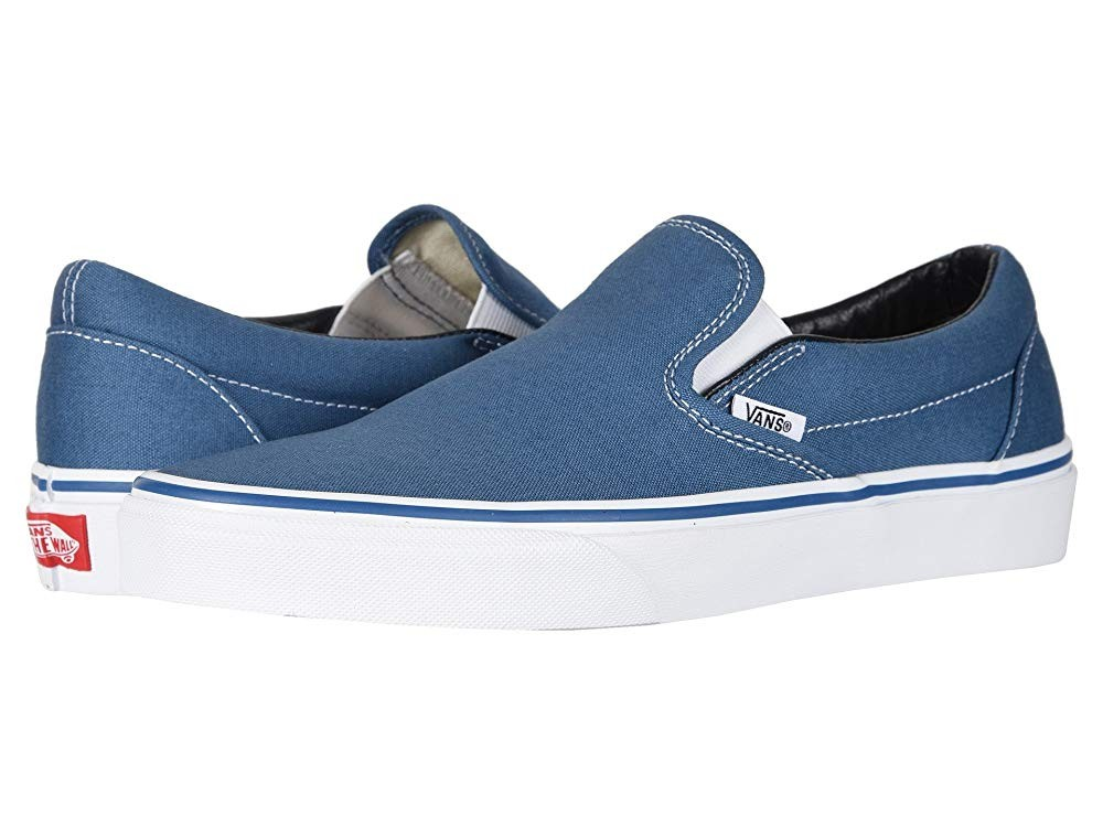 [ Hot Deals ] Vans Classic Slip-On™ Core Classics Navy (Canvas)