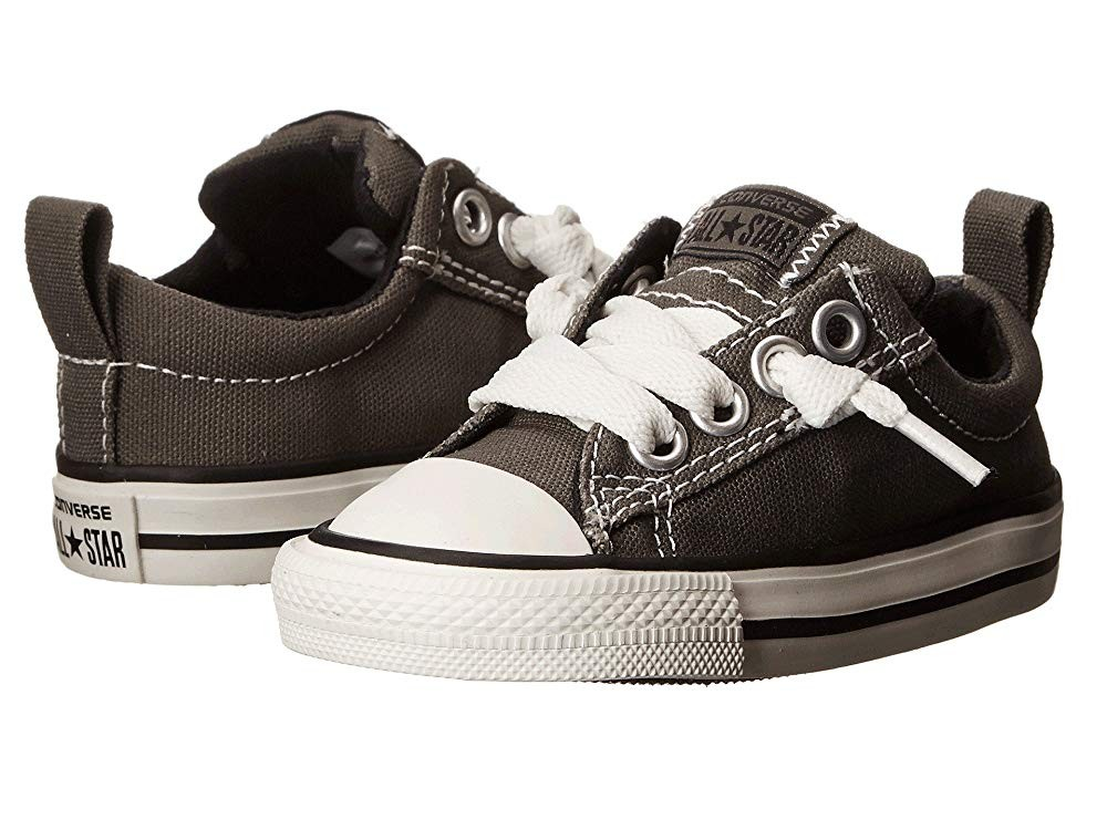 Converse Kids Chuck Taylor® All Star® Street Ox (Infant/Toddler) Charcoal