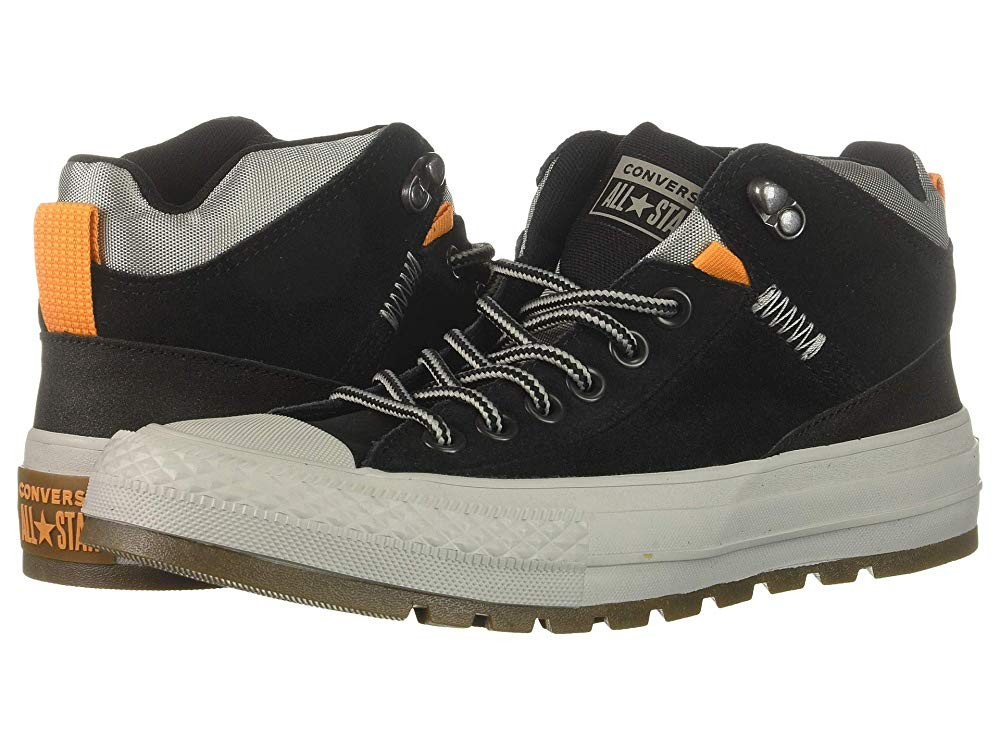 Black Friday Converse Chuck Taylor All Star Street Boot - Hi Black/Black/Dolphin Sale