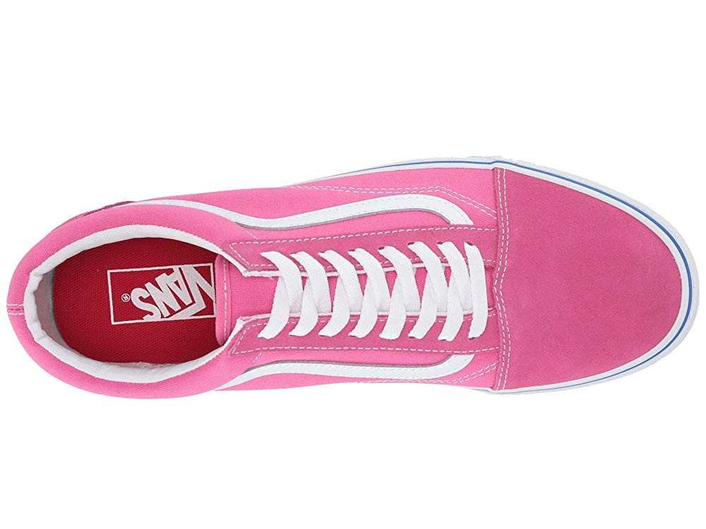 Vans Old Skool™ (Suede/Canvas) Carmine Rose/True White Black Friday Sale