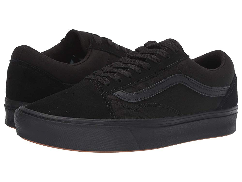 [ Hot Deals ] Vans Comfycush Old Skool (Classic) Black/Black