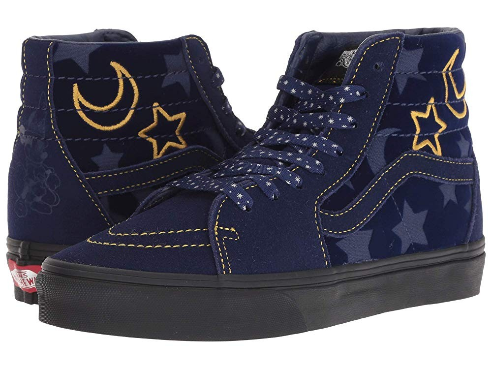 [ Hot Deals ] Vans Mickey's 90th Disney® Sk8-Hi (Disney) Sorcerer's Apprentice/Black