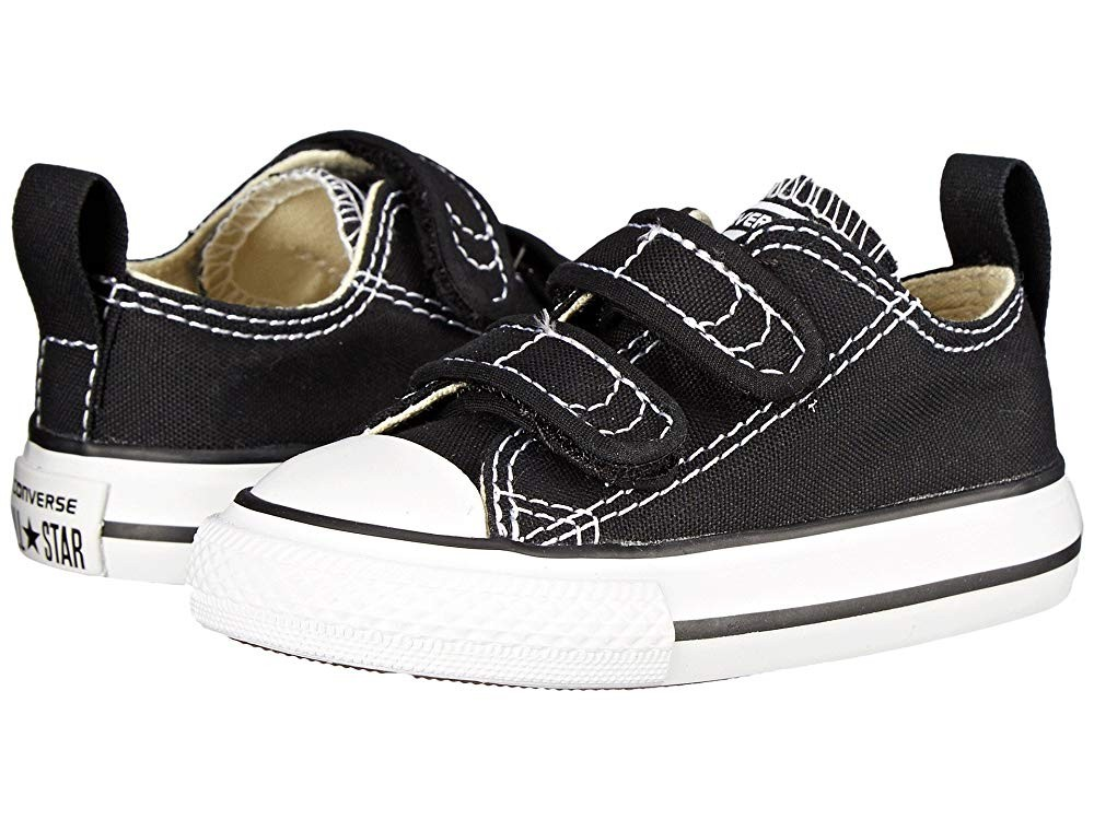 Black Friday Converse Kids Chuck Taylor® 2V Ox (Infant/Toddler) Black Sale