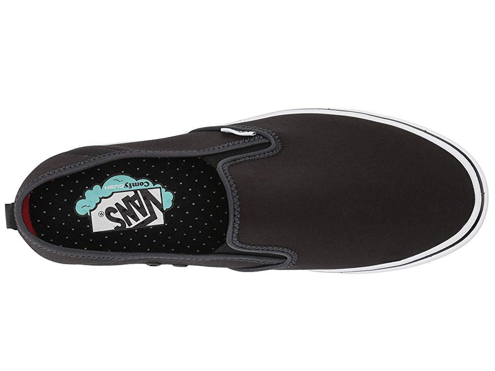 [ Hot Deals ] Vans ComfyCush Slip-On SF Black/True White