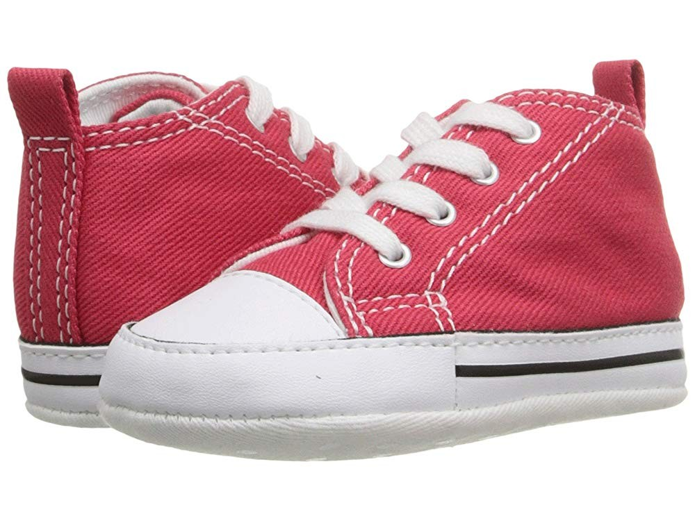 [ Black Friday 2019 ] Converse Kids Ctas First Star (Infant/Toddler) Red
