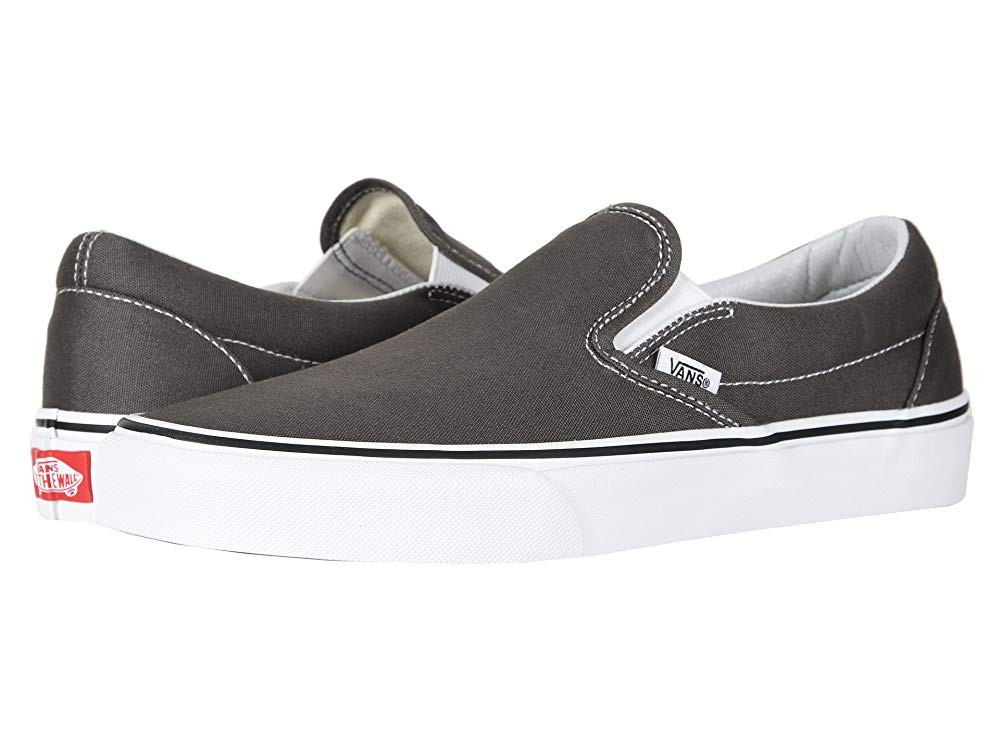 Christmas Deals 2019 - Vans Classic Slip-On™ Core Classics Charcoal (Canvas)