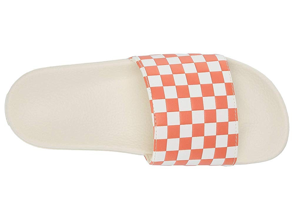 Vans Slide-On (Checkerboard) Carnelian Black Friday Sale