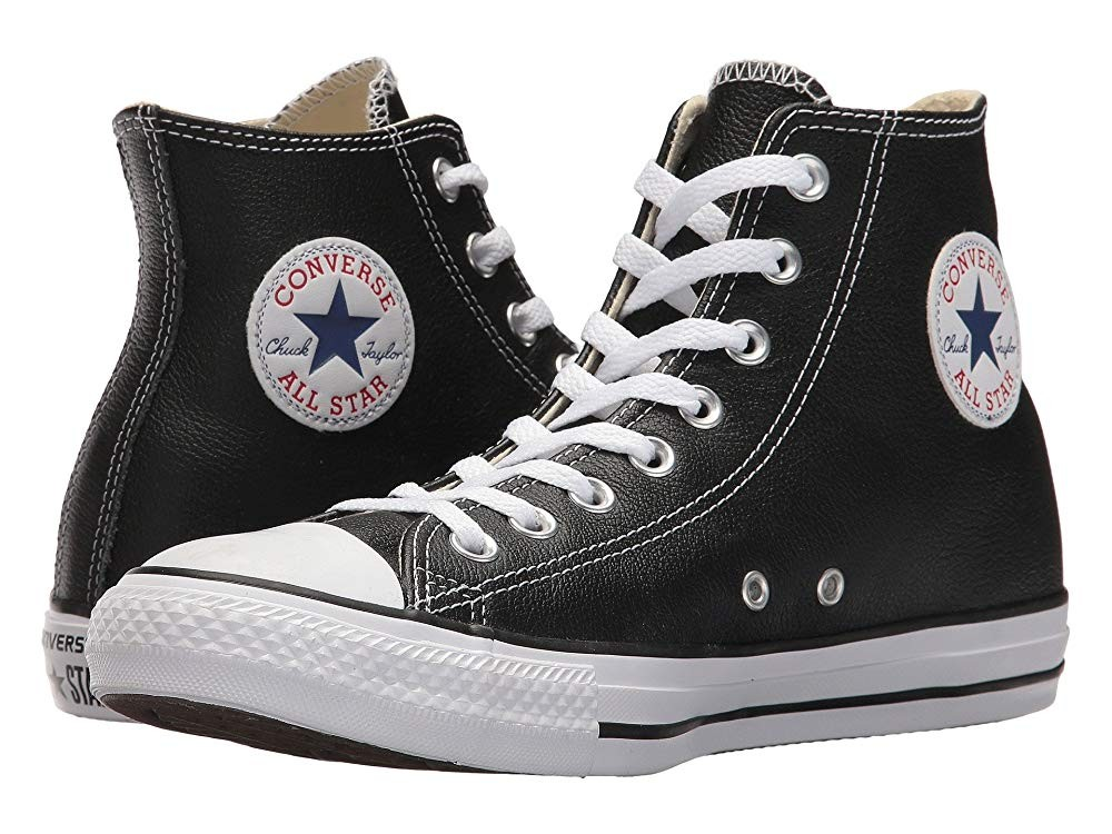 Christmas Deals 2019 - Converse Chuck Taylor® All Star® Leather Hi Black