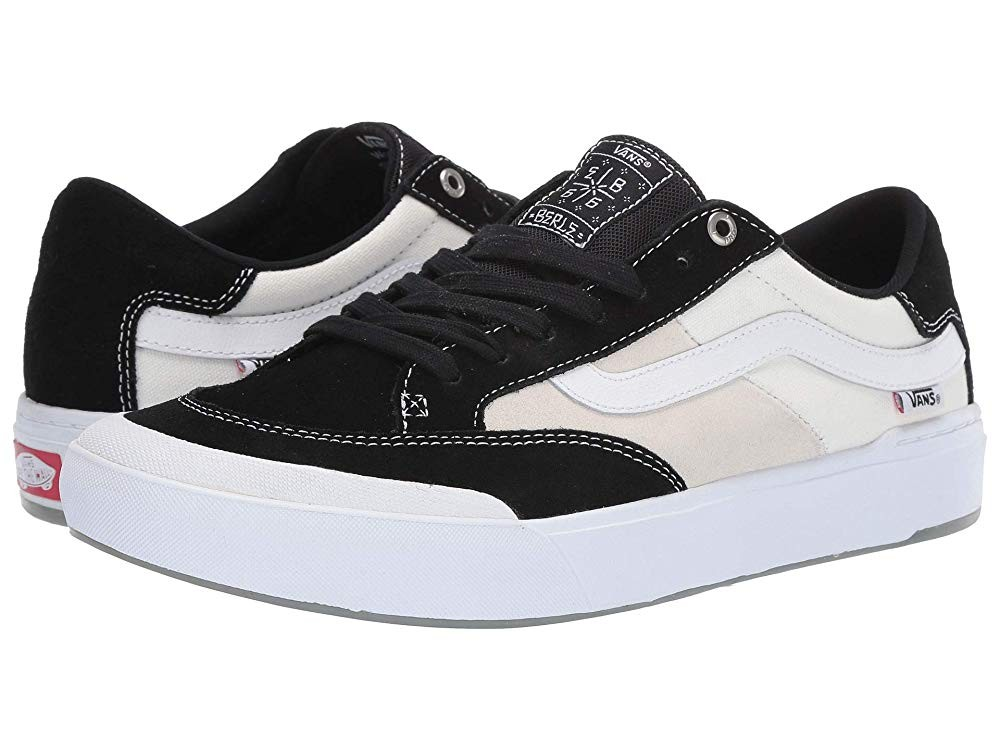 [ Hot Deals ] Vans Berle Pro Black/White