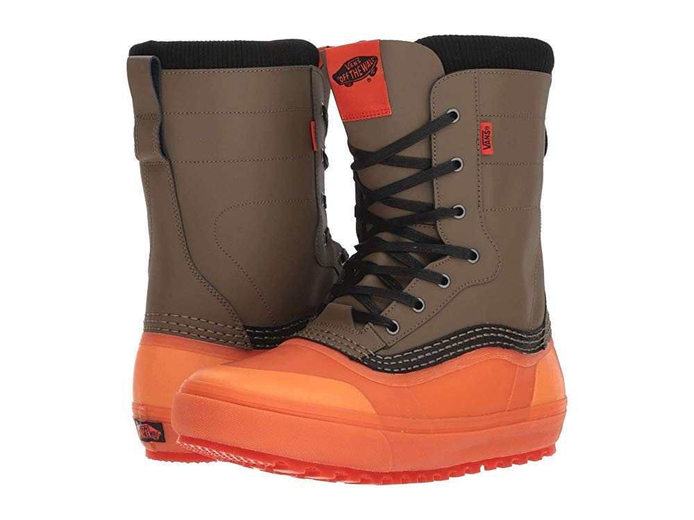 [ Hot Deals ] Vans Standard™ Snow Boot '18 Green/Orange