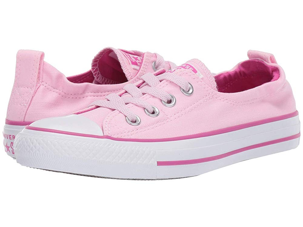 [ Hot Deals ] Converse Chuck Taylor® All Star® Shoreline Slip-On Pink Foam/Active Fuchsia/White