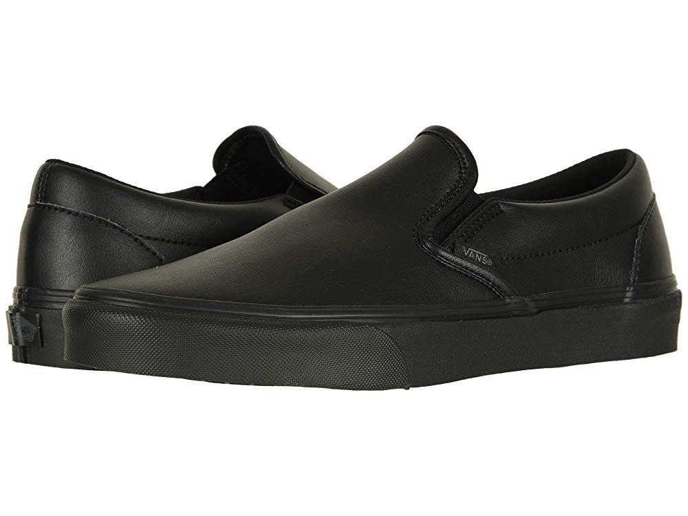 Vans Classic Slip-On™ (Classic Tumble) Black Mono Black Friday Sale