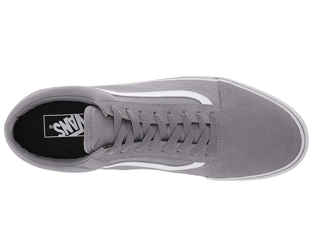 [ Hot Deals ] Vans Old Skool™ (Suede/Canvas) Frost Gray/True White