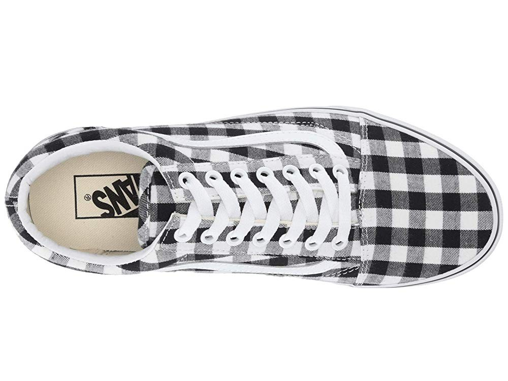 Vans Old Skool™ (Gingham) Black/True White Black Friday Sale