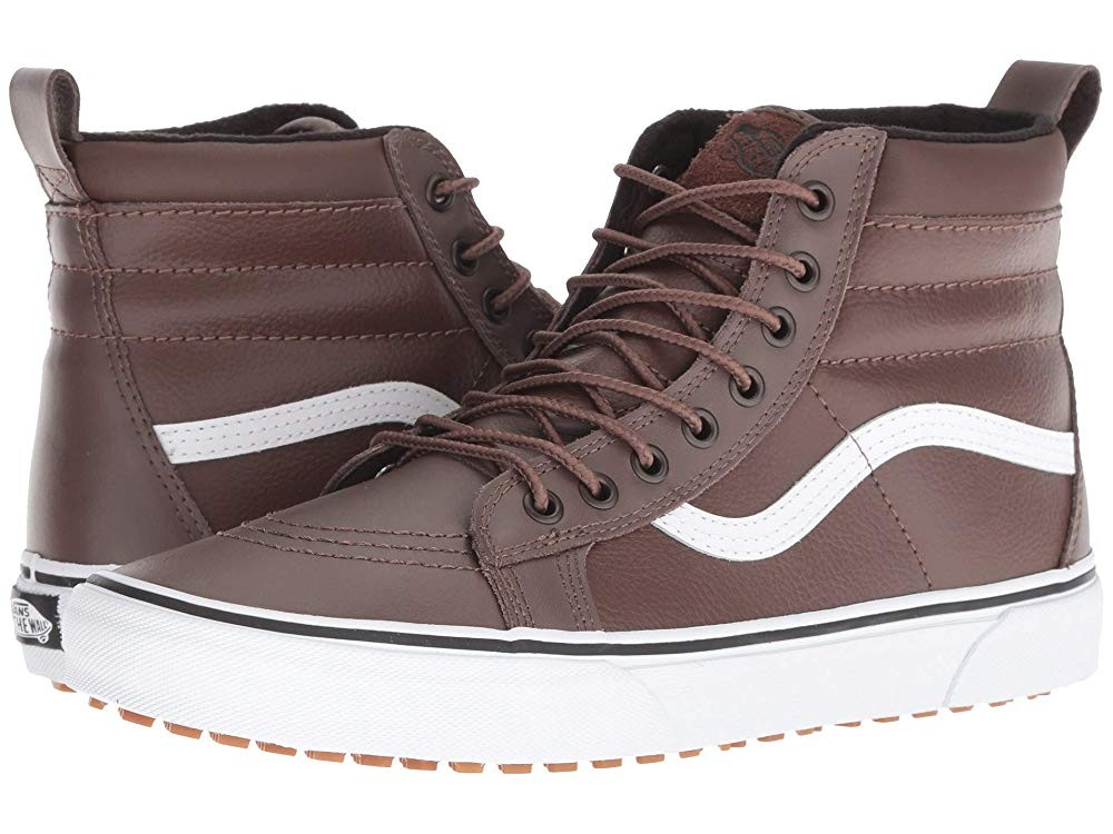 [ Hot Deals ] Vans SK8-Hi MTE Rain Drum/Leather