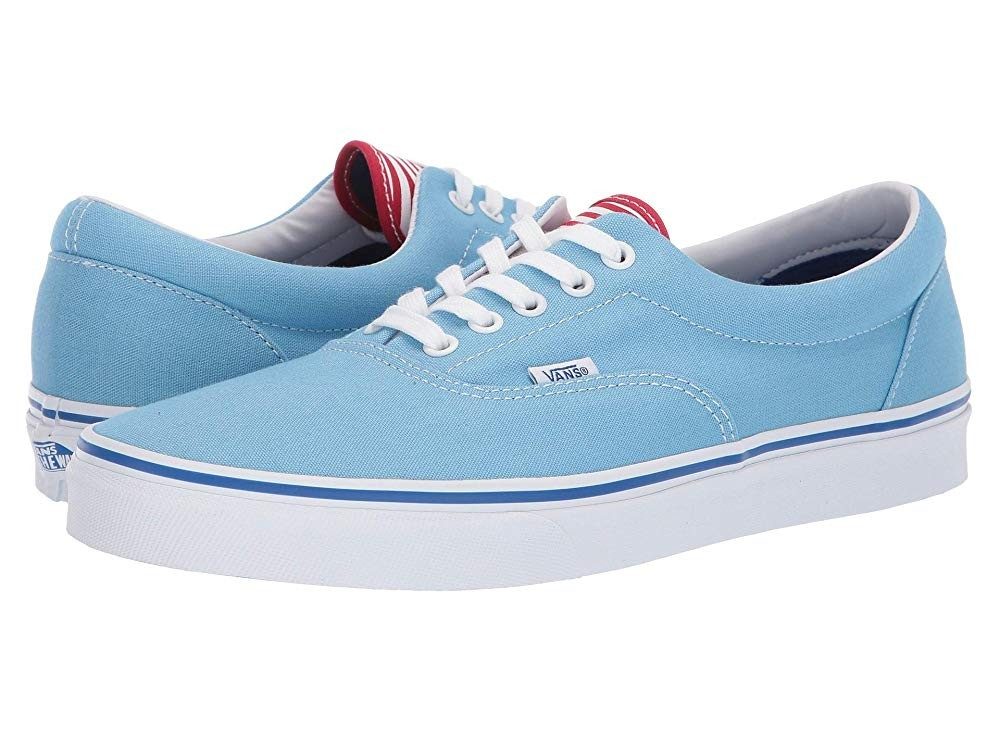Christmas Deals 2019 - Vans Era™ (Deck Club) Alaskan Blue/Racing Red