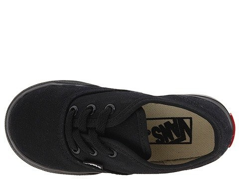 Vans Kids Authentic Core (Toddler) Black/Black