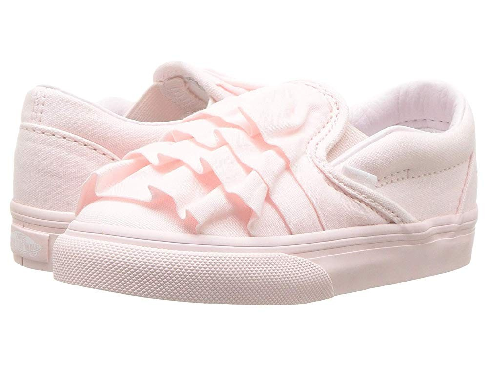 Vans Kids Classic Slip On (InfantToddler) (Ruffle) Heavenly