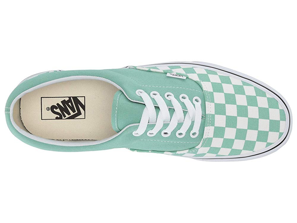 Vans Era™ (Checkerboard) Neptune Green/True White Black Friday Sale