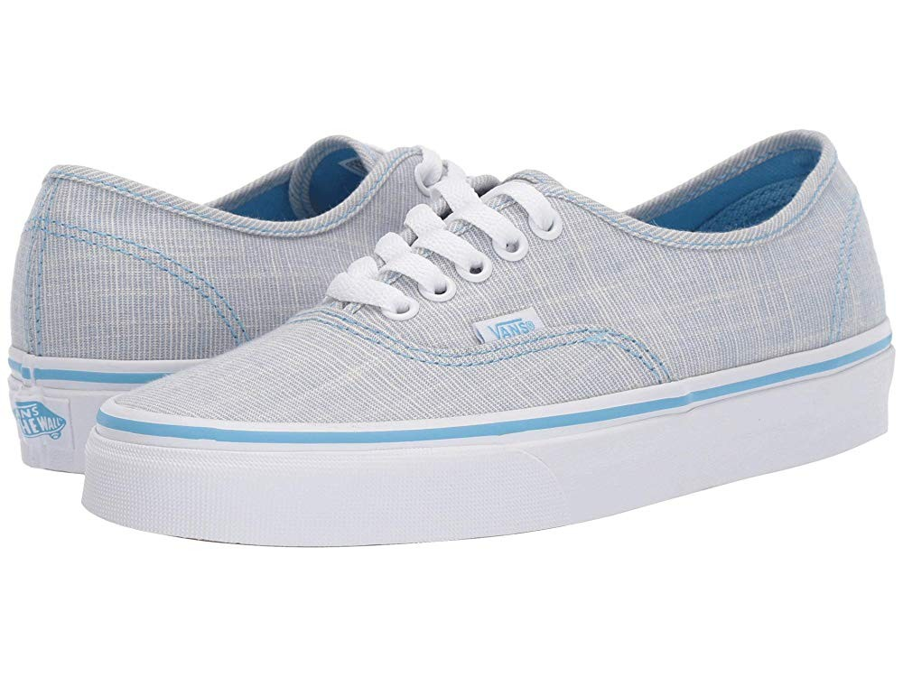 Vans Authentic™ (Chambray) Alaskan Blue/True White Black Friday Sale
