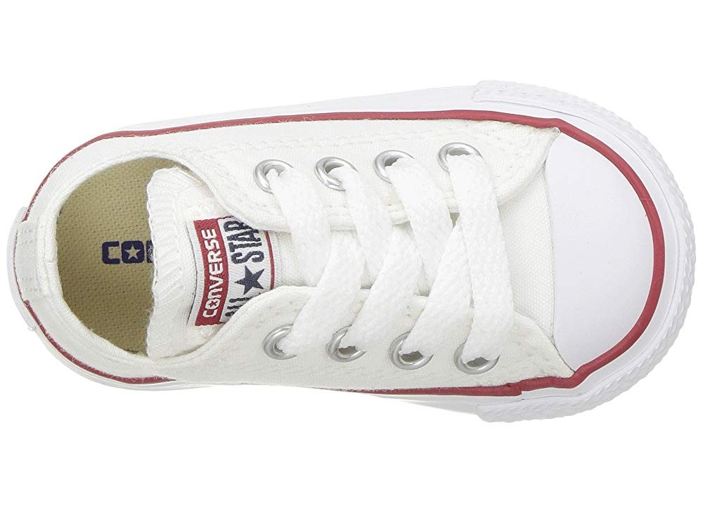 [ Hot Deals ] Converse Kids Chuck Taylor® All Star® Core Ox (Infant/Toddler) Optical White