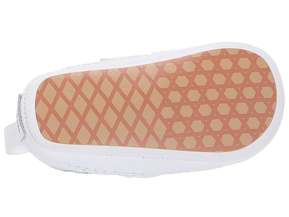 Vans Kids Slip-On V Crib (Infant/Toddler) (Sparkle Flame) Rainbow/True White Black Friday Sale