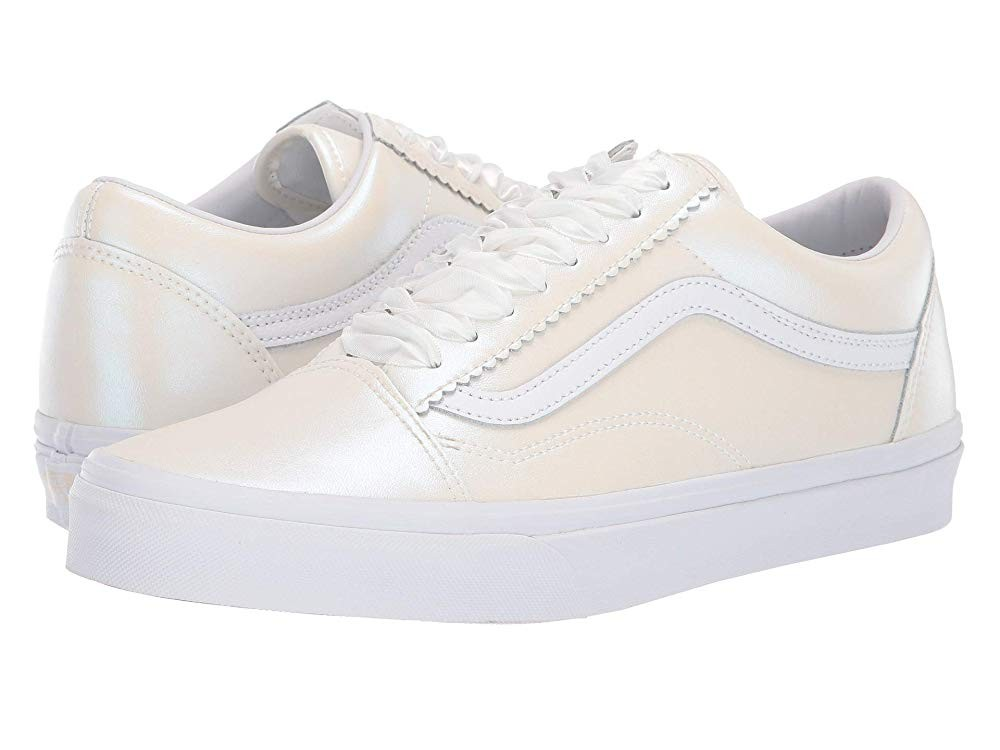 [ Hot Deals ] Vans Old Skool™ (Pearl Suede) Classic White/True White