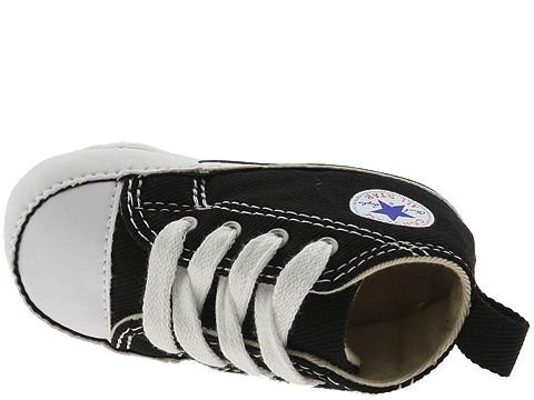 Black Friday Converse Kids Chuck Taylor® First Star Core Crib (Infant/Toddler) Black/White Sale