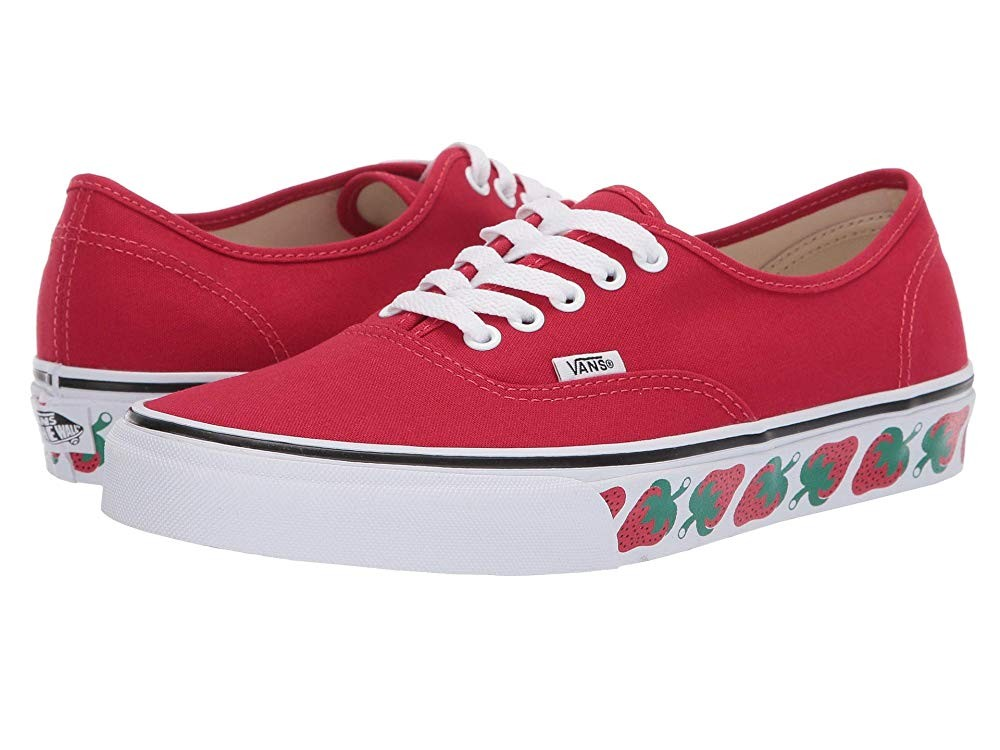 Vans Authentic™ (Strawberry Tape) Red/Black