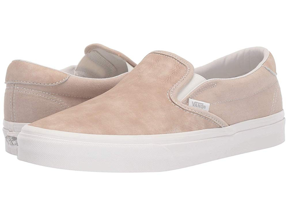 Vans Slip-On 59 (Washed Nubuck/Canvas)Humus/Blanc
