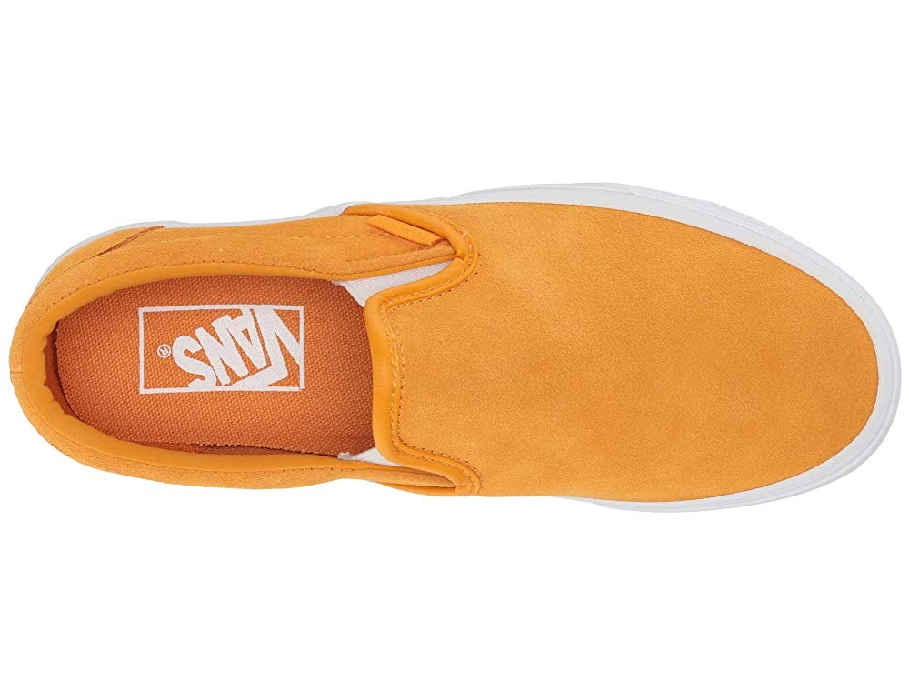 Vans Classic Slip-On™ (Soft Suede) Zinnia/True White Black Friday Sale
