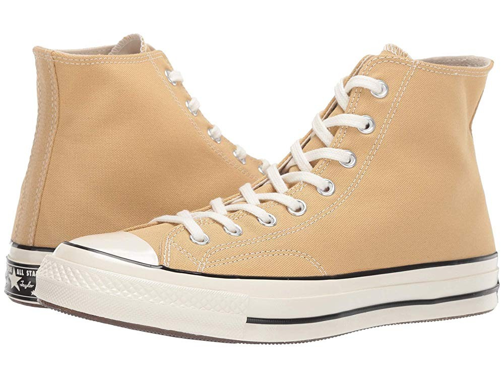 Black Friday Converse Chuck Taylor® 70 - Vintage Canvas Hi Club Gold/Egret Sale